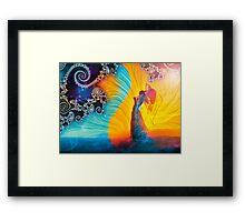 Dance of Yin and Yang Framed Print