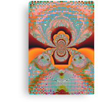 Anarchy and the Pixel Canvas Print