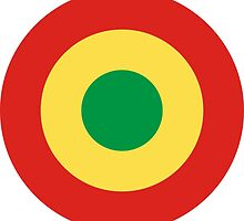 Roundel of the Congolese Air Force  by abbeyz71