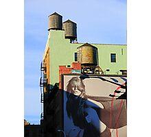 NYC Back Street Vision Photographic Print