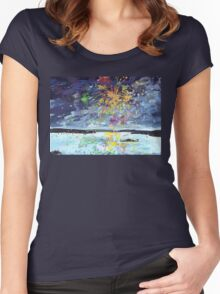 Light Up the Night 2 Women's Fitted Scoop T-Shirt