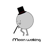 Moonwalking moon, walking. by Epiclymadguy