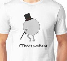 Moonwalking moon, walking. Unisex T-Shirt
