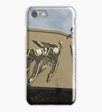 Sculptures of Angels and Christ iPhone Case/Skin
