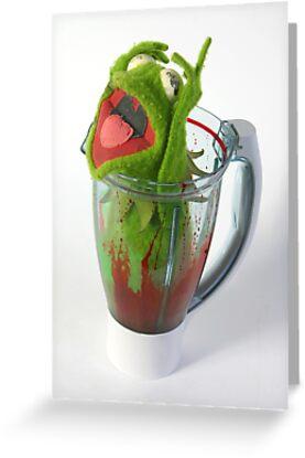 Frog in a Blender by Aden Brown