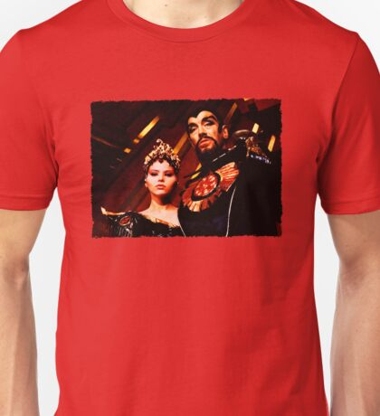 Emperor Ming and Princess Aura Unisex T-Shirt