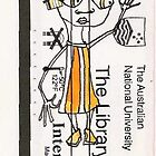 ANU Library card bloke by inks