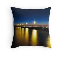 Shorncliffe Jetty - Dawn Throw Pillow
