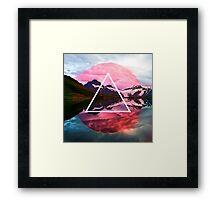 Wanderlust Lake Framed Print