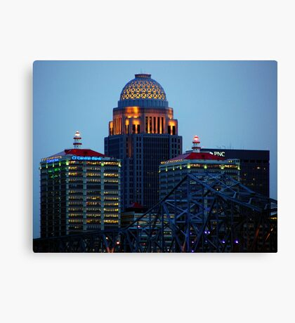 Louisville Close Up Canvas Print