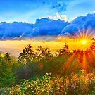 sunrise over blue ridge by Alexandr Grichenko