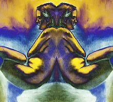 Mirrored Nude by Zack Nichols