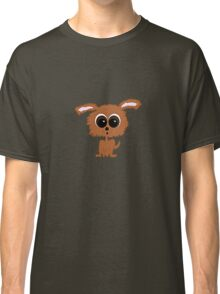 Brown Puppy Dog Classic T-Shirt