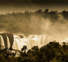 Iguaza Falls - with a Autumnal Filter by photograham