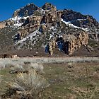 Driggs Mansion Ruins, Unaweep Canyon, Colorado by Brian Hendricks