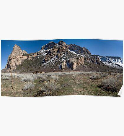 Driggs Mansion Ruins, Unaweep Canyon, Colorado Poster