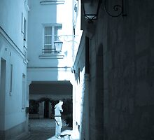 A man in light by Jmmagalhaes