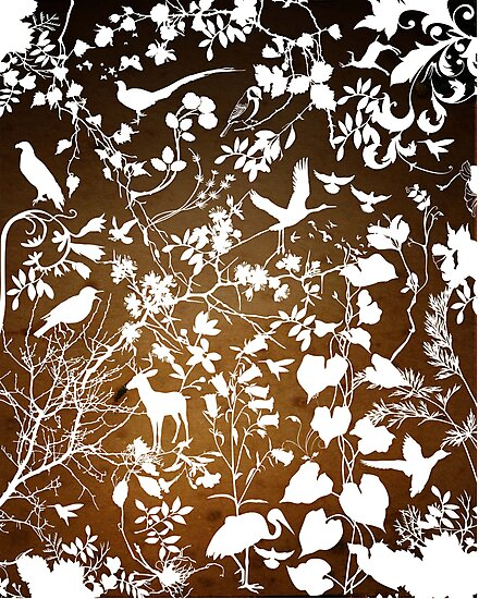 nature's wallpaper by Narelle Craven