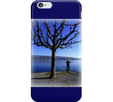 Photographing the Lake of Zurich iPhone Case/Skin