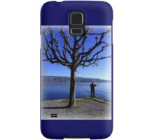Photographing the Lake of Zurich Samsung Galaxy Case/Skin