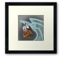 the king of spargus  Framed Print