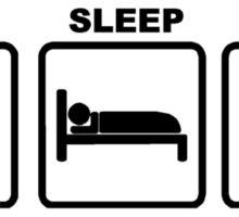 EAT SLEEP EMT Sticker
