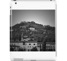Tuscany Hillside in BW iPad Case/Skin