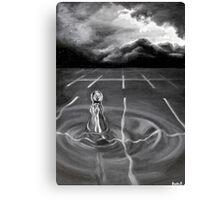 One Drop Raises Oceans Canvas Print