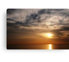Above and Below - SUN Canvas Print