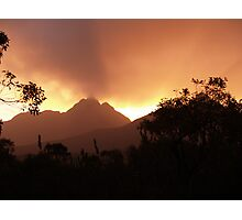 Toolbrunup Sunset Photographic Print