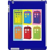 Warhol Tardis iPad Case/Skin