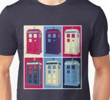 Tardis Warhol Unisex T-Shirt