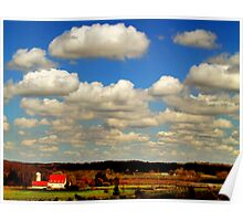 Clouds are rolling in Poster