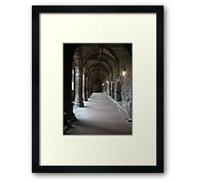 Chester Cloisters Framed Print