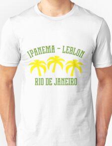 Ipanema Leblon Palms Unisex T-Shirt