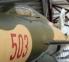 MiG-21PF  by Mark Durant