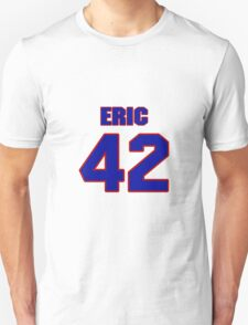 Basketball player Eric Anderson jersey 42 T-Shirt
