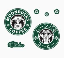 Moonbucks Coffee Mini Sticker Pack by Ellador