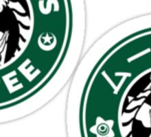 Moonbucks Coffee Mini Sticker Pack Sticker