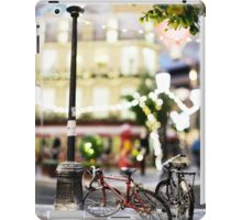 Mini-Streets: Single Bicycle iPad Case/Skin