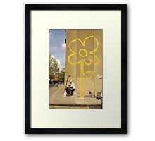Banksy - Self Portrait? Framed Print