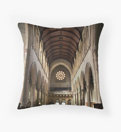 St. Peters Cathedral Throw Pillow