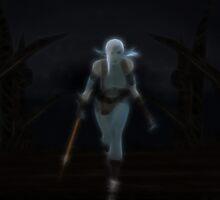 Vampric Elven Princess by Arthur Carley