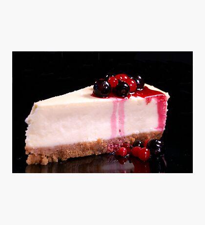 Berry Cheesecake Photographic Print