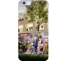 Mini-Streets: Yellow Bicycle iPhone Case/Skin