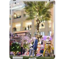 Mini-Streets: Yellow Bicycle iPad Case/Skin
