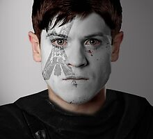 Ramsay Bolton House Flay War Paint by HilaryHeffron