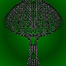 tribal mushroom by Dalton Sayre