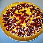 Cherry and Custard Pie by BlueMoonRose