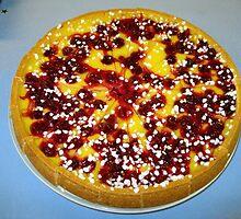 Cherry and Custard Pie by BlueMoonRose